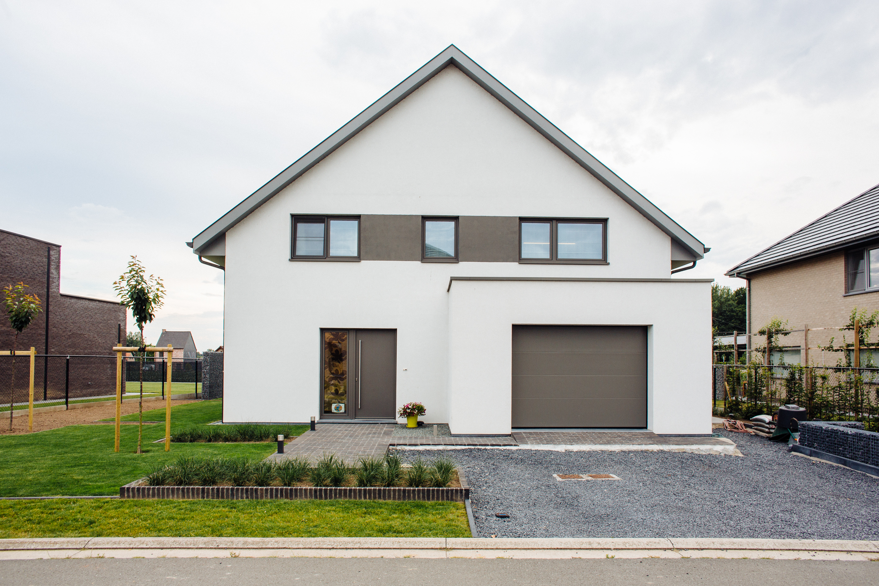 NZEB woning in Wortegem-Petegem