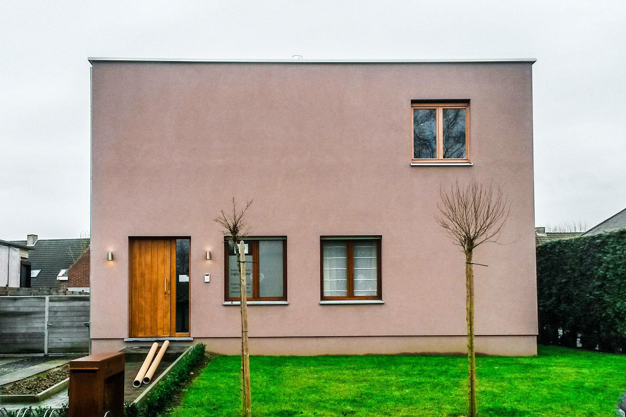 Extra verdieping in houtskeletbouw te Sint-Amandsberg